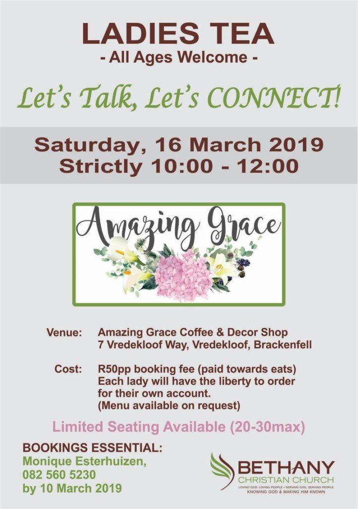 Bethany Ladies Tea - 16 March 2019