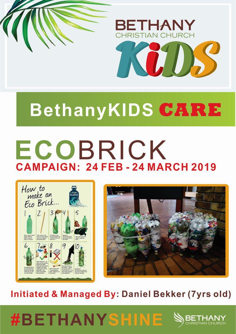 BethanyKIDS CARES - Ecobricks 1